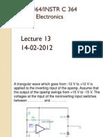 Analog Lect 13 14022012 Generators
