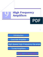 Analog Lect 35-36-26042012 High Frequency Amplifiers