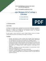 Patologia Benigna Laringe Estridor