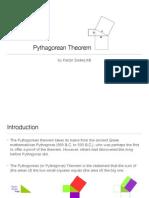 Pythagoras Theorem Presentation