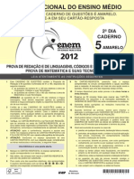 Caderno Enem2012 Dom Amarelo