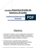 escuela deportiva druidas de latinoamerica