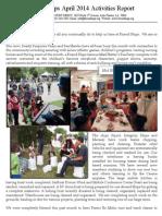 Friend Ships Activities Report April2014