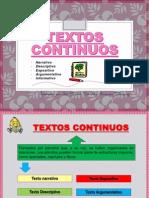 TEXTOS CONTINUOSs