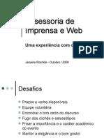 Assessoria de Imprensa e Web