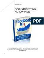 Facebook Marketing Advantage New