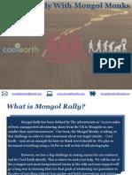 mongol monks sponsorship information