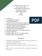Tematica - Curs Jurnalism
