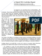 Friend Ships Activities Report March2014