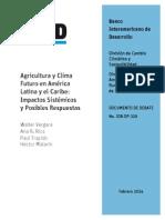 Agricultura y Cambio Climatico IDB-DP-329_es