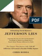 Debunking Bartons Jefferson Lies
