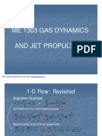 Gas Dynamics-Compressible Flow