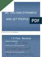 Gas Dynamics-Compressible Flow