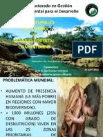 Areas Naturales Protegidas y Manejo Forestal Comunitario - JOSE a. SARRICOLEA v. - PEDRO HUMBERTO IGLESIAS A