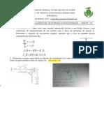 Atividade 03 - Modelagem de Sistemas Rotacionais - Parte 1x