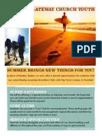 youth summer calendar master