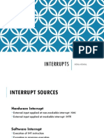 Microprocessors - Interrupts