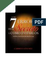 Los 7 Errores de El Secreto-eBook
