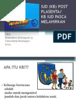 Iud (Kb) Post Plasenta