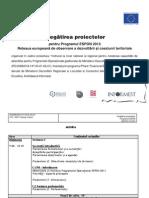 Modul 3b Pregatirea Proiectelor Espon 090925