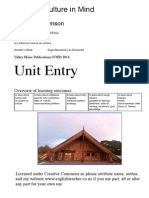 Keeping Culture In Mind Entry unit  (May30 2014)