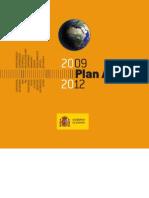 Plan Africa 2009-2012 de España