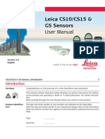 Leica Viva CS10 CS15 User Manual