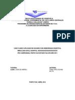 Caso Clinico Iris Dengue Abril 2014