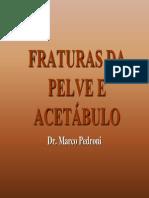 Fratturas Da Pelve e Acetabulo Marco
