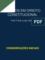 Tópicos de Direito Constitucional