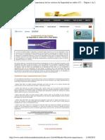 Importancia de Seguridad en Cables UTP y Fibra Óptica