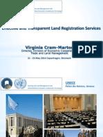 Effective and Transparent Land Registration Services 05-2014