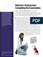 Completing the Examinatio