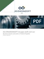 Ergokonzept Information Brochure