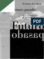 Kosellek Futuro Pasado
