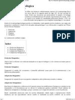 Antropología Biológica - Wikipedia, La Enciclopedia Libre