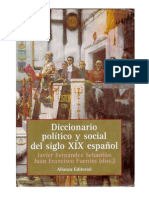 Diccionario Político y Social Del Siglo Xix Español (Conceptos)