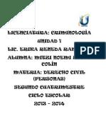 La Nocion General Del Derecho Civil