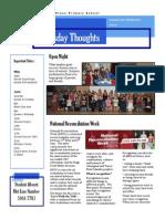 Newsletter 29-05-2014