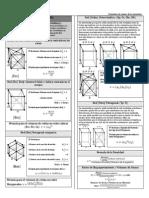 Formulario ciencias de los materiales