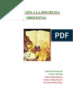 Disciplina Orquestal