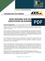 NP - Axis Communications - Axis designa dos nuevos ejecutivos en Sudamérica