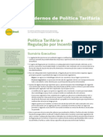 Caderno 01 Regulacao Por Incentivos