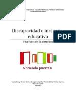 Discapacidad e Inclusión Educativa