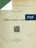 La Terza Guerra Sannitica - Bruno (1906)