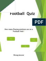 football quiz interactive power point 2