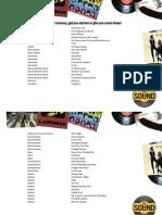 500 Albums u Must Listen to List