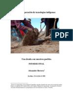 Herrera Recuperación de Tecnologías Indígenas-final