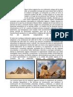 civilizacion egipcia