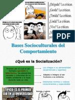 Bases Socioculturales Del Comportamiento